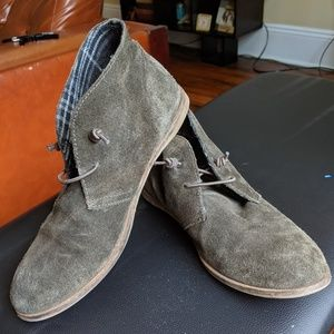 Lucky Brand Olive Green Shoes